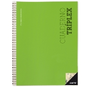 Cuaderno ADDITIO Tríplex A4 P192