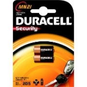 Pila alcalina DURACELL Plus Power MN21 12v. Pack 2