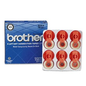 Cinta correctora BROTHER 3015 AX/10/112/12 Pack 5