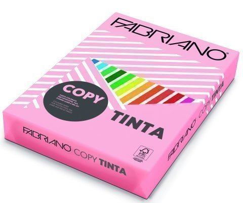 Papel color FABRIANO A3  80g rosa pastel Paquete 250h