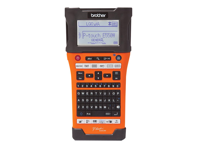 Rotuladora industrial  BROTHER P-Touch PT-E550W
