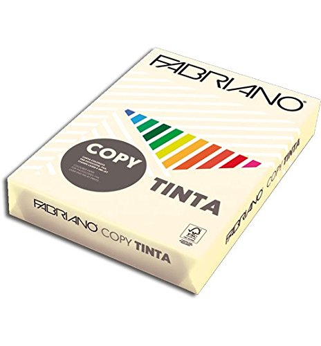 Papel color FABRIANO A3  80g crema Paquete 250h